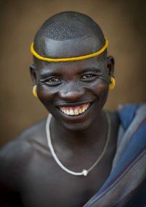Tribe man ethiopia
